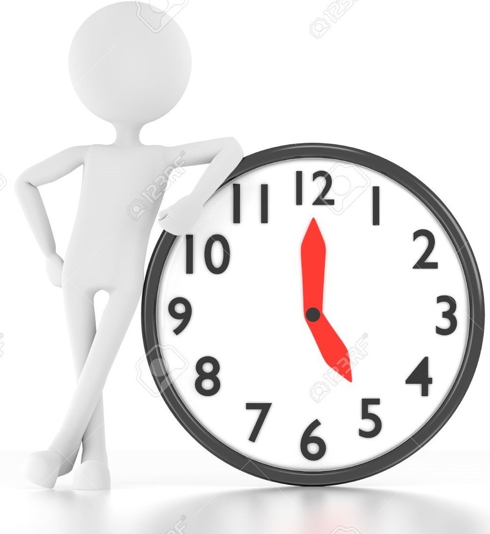 14736758-3d-person-leans-on-clock-that-says-17-00-Stock-Photo (2)